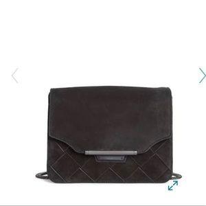Rag & Bone Moto Leather and Suede bag / clutch